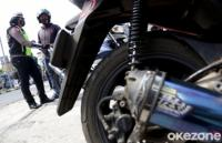 Operasi Patuh Candi, Polres Karanganyar Tertibkan 29 Motor Knalpot Bising