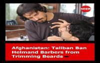 Taliban Larang Tukang Cukur Janggut