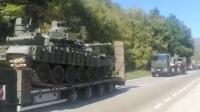 Hubungan Tegang, Serbia Kirim Tank, Peralatan Perang, dan Jet Tempur ke Perbatasan Kosovo