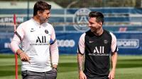 Lionel Messi Membaik, Pochettino Bicara Peluang La Pulga Tampil di Laga PSG vs Manchester City