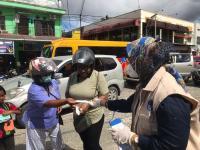 BNPB Lepas Gerakan Mobil Masker untuk Masyarakat Kabupaten Mimika