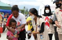 PON Papua, BNPB Operasikan Gerai Masker di Stadion Barnabas Yumeo