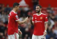 Jika Tak Ada Pogba, Bruno Fernandes dan Cristiano Ronaldo Bertengkar di Laga Man United vs Aston Villa