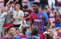 Usai Bantu Barcelona Bantai Levante, Ansu Fati Luapkan Kebahagiaan Warisi Nomor Punggung Lionel Messi