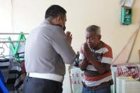 Viral Pensiunan Polisi Jadi Manusia Silver, Kapolda Jateng Salurkan Bantuan