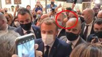 Presiden Prancis Dilempar Telur