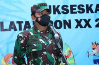 Panglima TNI Tinjau Keamanan dan Gladi Pembukaan PON XX Papua