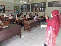 Siswa Antusias Ikuti Uji Coba PTM di Bogor Setelah 2 Tahun PJJ