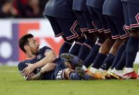 Demi Bantu PSG Kalahkan Man City, Lionel Messi Sampai Rela Berbaring di Lapangan