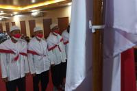 4 Napi Terorisme di Lapas Rajabasa Lampung Ikrar Setia NKRI