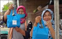HUT Ke-7 Perindo, Pedagang Pasar Stan Sleman: Semoga Terus Peduli Orang Kecil