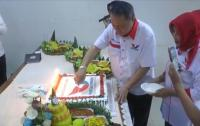 HUT Ke-7 Partai Perindo, DPW Jateng Potong Tujuh Tumpeng