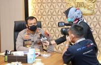 Kapolda Jateng Terima Audiensi Pimpinan Media di Kantornya