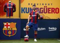 Hanya Debut Bersama Barcelona di Laga Persahabatan, Sergio Aguero Sudah Senang
