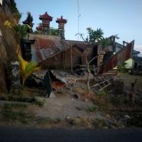 Gempa Bali, Korban Longsor 2 Meninggal, 2 Kritis, 1 Luka Ringan