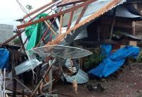 Kabupaten Sumbawa Diterjang Angin Badai, Sejumlah Rumah Rusak Berat