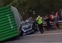 Korban Tewas dalam Kecelakaan Truk Terbalik di Tol Cipularang Ternyata Bos Indomaret