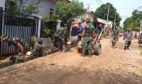 TMMD 112 Depok Berakhir, Bedah Rumah hingga Pengecoran Jalan Tuntas 100%