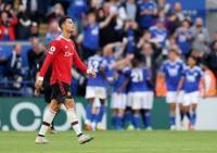 Manchester United Kalah dari Leicester, Cristiano Ronaldo Marah Besar