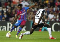 Ansu Fati dan Depay Cetak Gol, Barcelona Unggul 2-1 atas Valencia di Babak Pertama