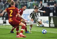 Gol Moise Kean Bawa Juventus Unggul 1-0 atas AS Roma di Babak Pertama