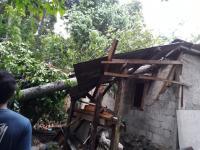 Diterjang Angin Kencang, Sejumlah Rumah di Kabupaten Bogor Rusak