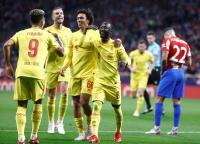 Sempat Tertinggal, Atletico Sanggup Imbangi Liverpool 2-2 di Babak Pertama