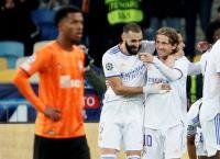 Hasil Shakhtar Donetsk vs Real Madrid di Liga Champions 2021-2022: Vinicius Menggila, Los Blancos Menang 5-0
