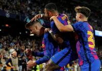 Barcelona Unggul 1-0 atas Dynamo Kiev di Babak Pertama
