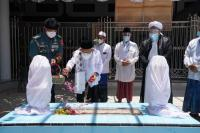 Wapres Ma'ruf Ziarah ke Makam Pahlawan Nasional KHR. As'ad Syamsul Arifin