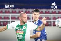Persib Bandung Tertinggal dari PSS Sleman di Babak Pertama