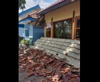 Gempa M5,3 Malang, Mushola hingga Kantor Pemerintahan di Blitar Rusak