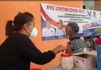 Vaksinasi Massal HUT ke-7 Partai Perindo disambut Antusias Masyarakat Babel