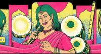 Biodata Ellya Khadam Pedangdut Boneka dari India, Ikon Google Doodle Hari Ini