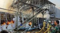 Pasar Kalideres Kebakaran, 13 Damkar Dikerahkan ke Lokasi