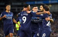Brighton & Hove Albion vs Man City, The Citizens Unggul 3-0 di Babak Pertama