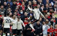 Manchester United vs Liverpool, The Reds Unggul 4-0 di Babak Pertama