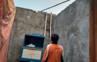 13 Rumah Rusak Parah Akibat Angin Kencang di Semarang