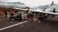 Kecelakaan Pesawat Smart Air di Puncak Papua Disebabkan Cuaca Buruk dan Kabut Tebal