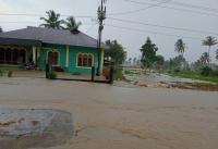 Banjir Rendam 40 Rumah di Nias Sumut