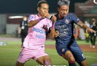 Babak Pertama Berakhir, Arema FC Unggul Tipis atas Persita Tangerang