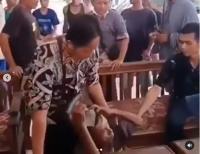 Viral Kakek Tua Dihajar Massa karena Dituduh Mencuri, Polisi Turun Tangan