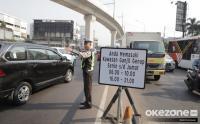 Puluhan Mobil Kena Tilang Ganjil Genap di Fatmawati