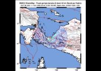 Gempa Berkekuatan M4,8 Guncang Nabire Papua