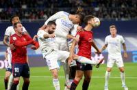 Real Madrid vs Osasuna Tanpa Gol di Babak Pertama
