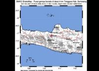 Gempa Magnitudo 3,0 Guncang Semarang