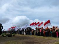 Bertepatan dengan Ultah Ganjar Pranowo, Peringatan Sumpah Pemuda di Dieng Meriah