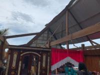 Diterjang Angin Kencang, 277 Rumah di 3 Kecamatan Wajo Sulsel Rusak