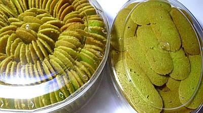 Lidah Kucing Almond Green Tea