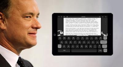 Tom Hanks Rilis Aplikasi 'Hanx Writer' untuk iPad